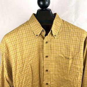 Mens Robert Talbott Carmel Casual Shirt XL